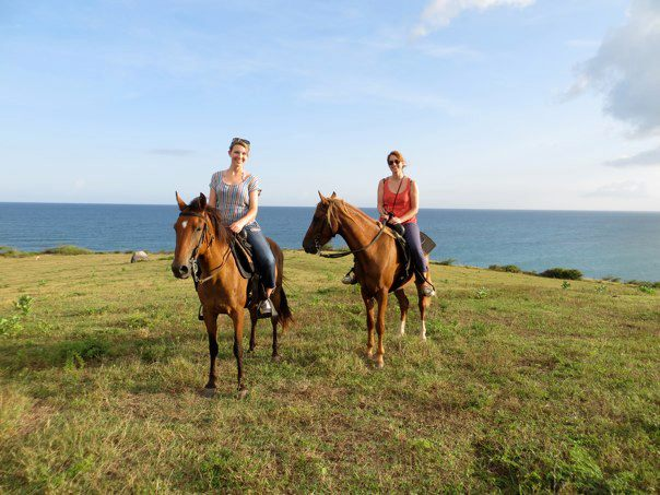 Vieques-horseback riding